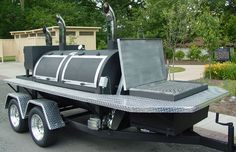 BBQ Trailers For Sale | Trailhound Smokers BBQ is now the proud owner of an East. This pit was ...