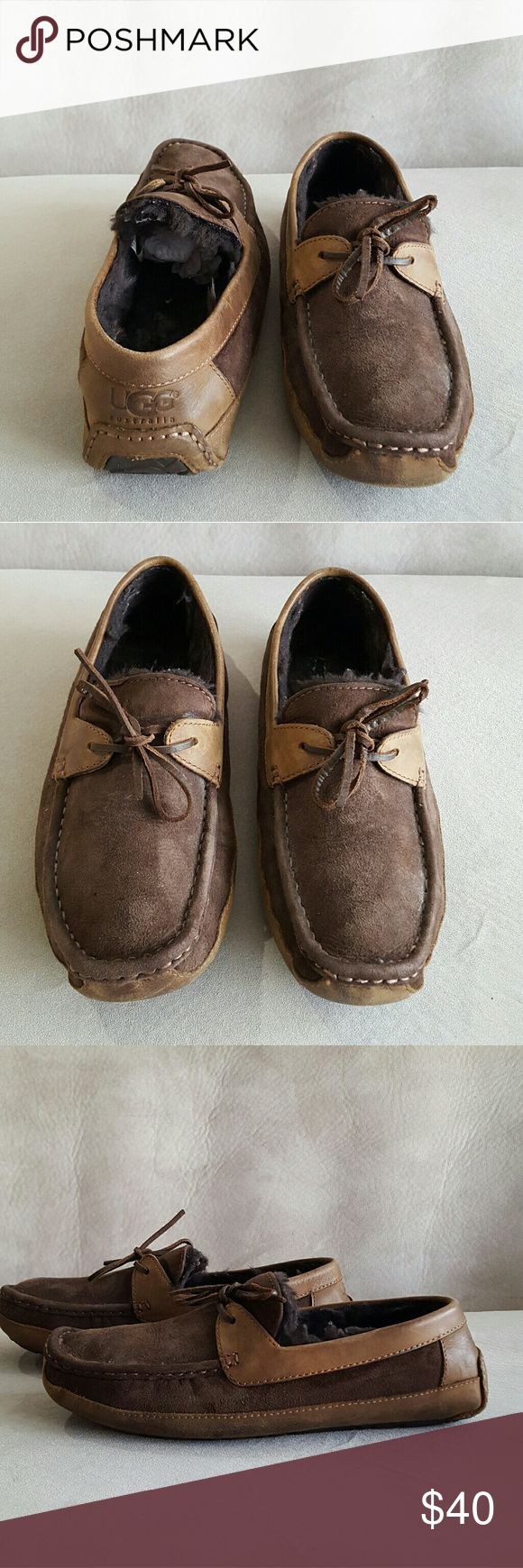 mens ugg scuff slippers size 11