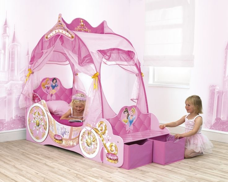 1000+ Ideas About Disney Princess Carriage Bed On
