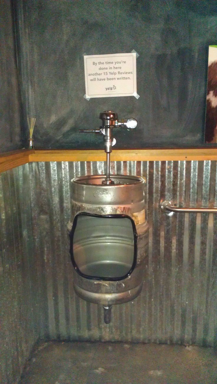 Man Cave With Urinal : Coolest urinal ever favorite places spaces pinterest