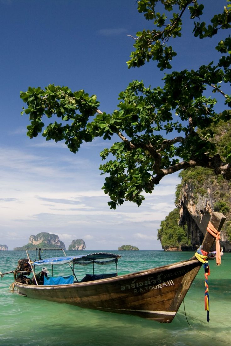 Krabi #beach of southern Thailand. More interesting things to do at this destination http://www.exoticvoyages.com/thailand/destinations/krabi/?utm_source=Pin&utm_medium=organic&utm_campaign=SM