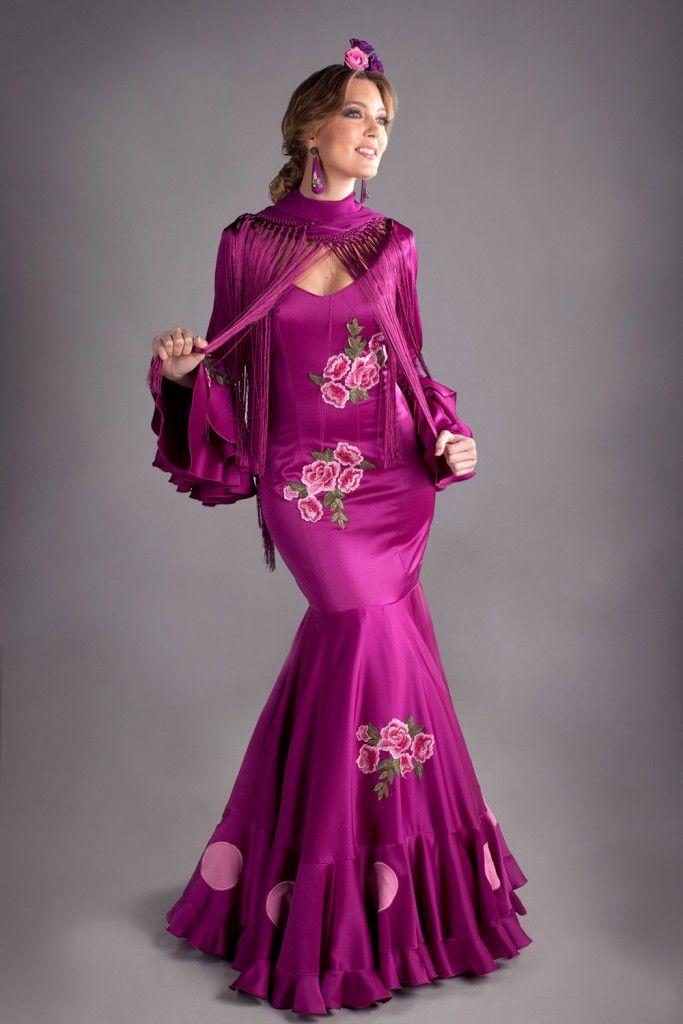 Mejores 185 imágenes de flamenca en Pinterest | Moda flamenca, Traje ...
