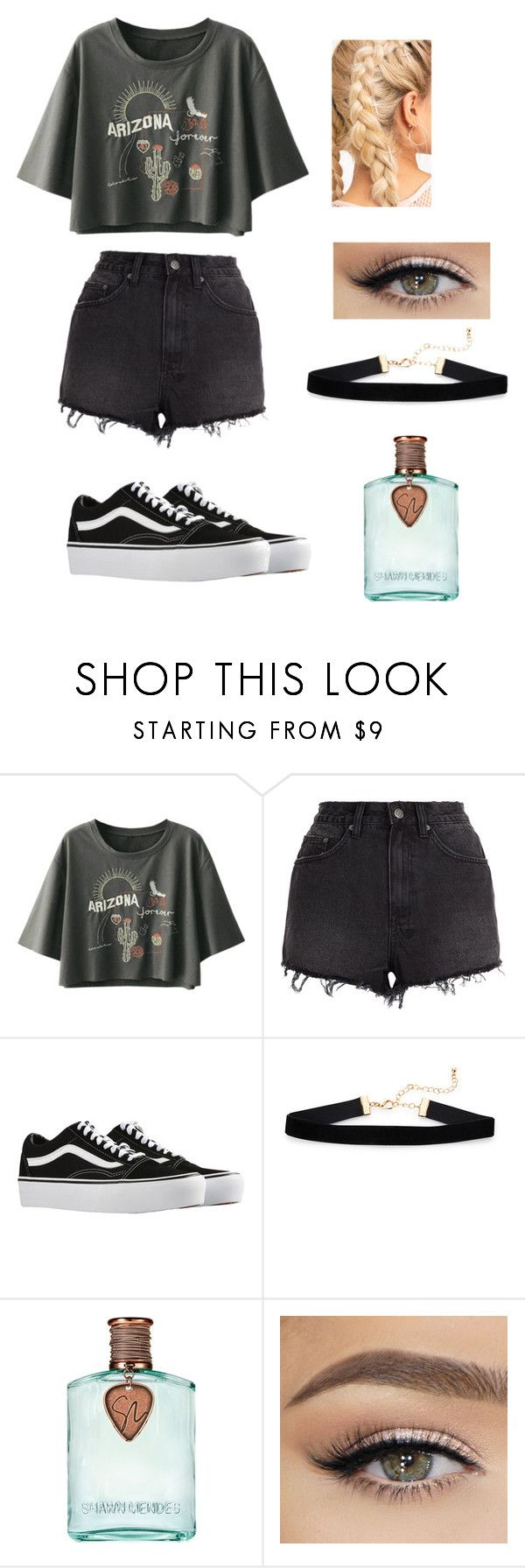 """""""Casual Day"""" by awkwardnath on Polyvore featuring Ksubi and Vans"""