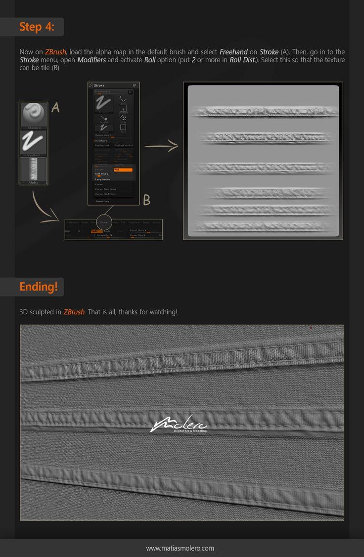 ArtStation - Displacement Map Tutorial, Matias Molero