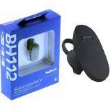#Cuffie #7: Auricolare Bluetooth Originale Nokia Bh-112 Multipoint Per Asha 200, Asha 300 Colore Nero Blister Segue Compatibilita'..