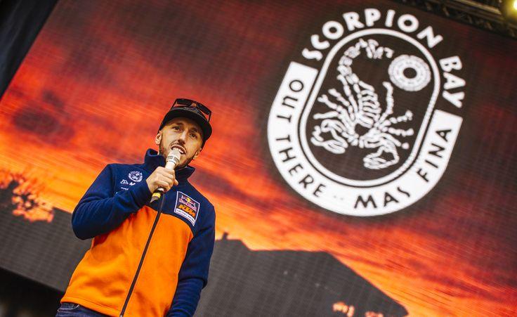 Antonio Cairoli sul palco del Lucca Comics