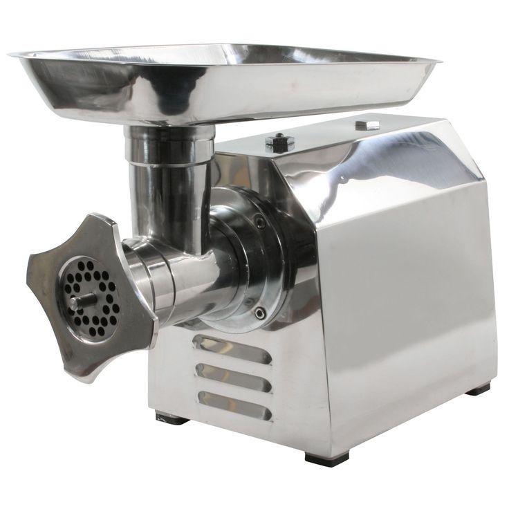 Sportsmanu0027s Series Industrial Electric Meat Grinder (1 HP Industrial  Electric Meat Grinder), Silver