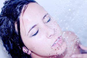 Tudatos jelenlét zuhanyozáskor