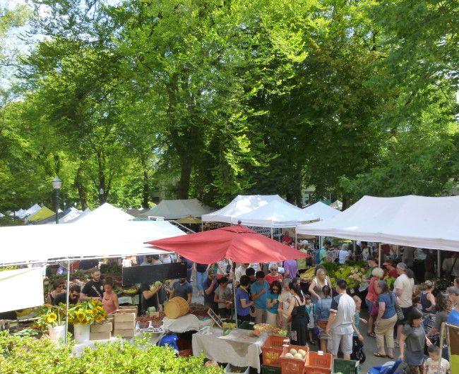 The Portland Farmers Market » PSU  8:30 am to 2:00 pm Saturdays (Mar-Oct) 9:00 am to 2:00 pm Saturdays (Nov-Feb)