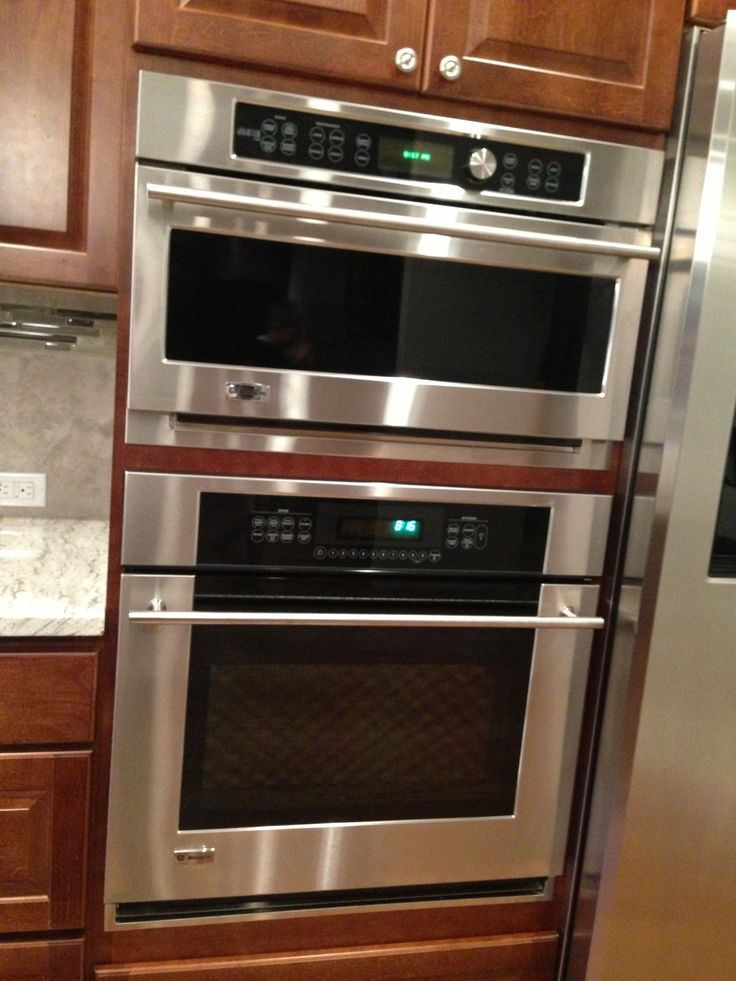 Wall Oven Amp Microwave Ge Monogram Wall Oven Kitchen