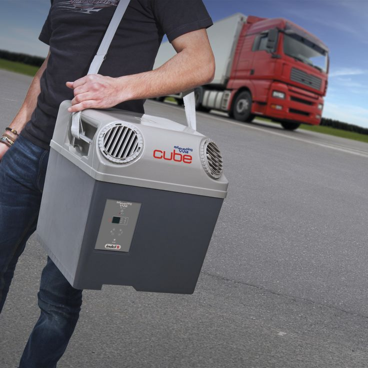 sw cube is the first portable air for trucks in the world produced by indel b