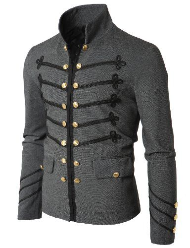 Doublju Mens Jacket with Button Detail GRAY (US-XL) Doublju,http://www.amazon.com/dp/B006WFG4SY/ref=cm_sw_r_pi_dp_RhLdsb112VVY53V4