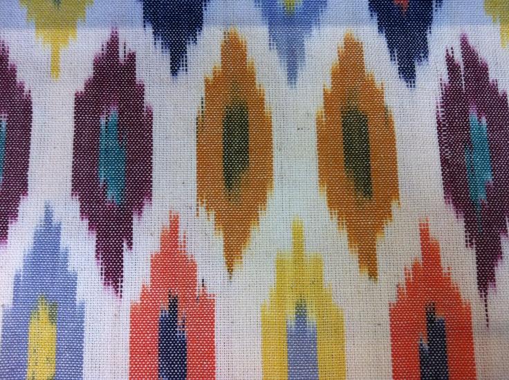 Mosaic Ikat in Multi, $75 p/m