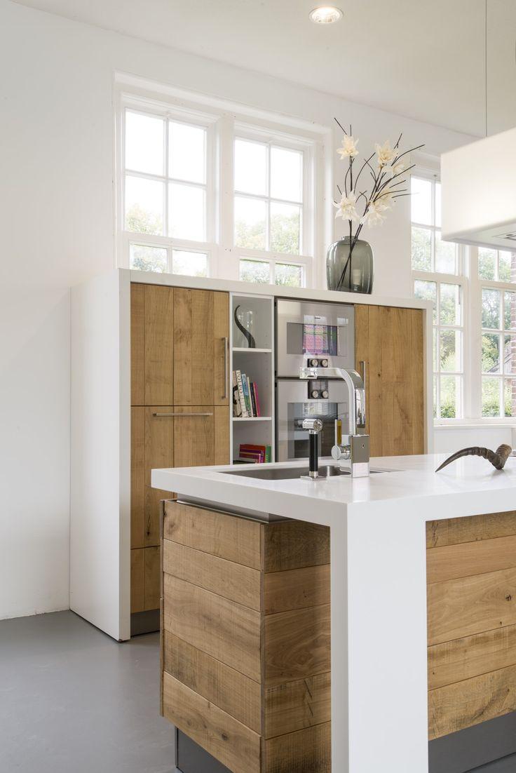 Eiken Keuken Gebruikt : 195 best images about Houten keukens maatwerk on Pinterest