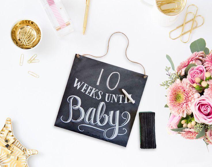 25+ parasta ideaa Pinterestissä Baby countdown Raskausaika - unt blackboard