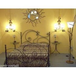 Wrought iron bed. Customize Realizations. 989