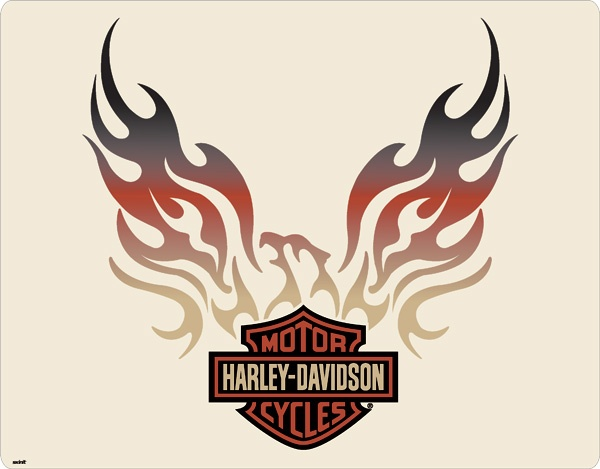 Harley-Davidson Eagle Flames                                                                                                                                                                                 More