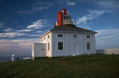 Cape Spear Lighthouse National Historic Site of Canada // most eastern point of land in North America