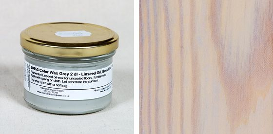 Linseed Coloured Wax
