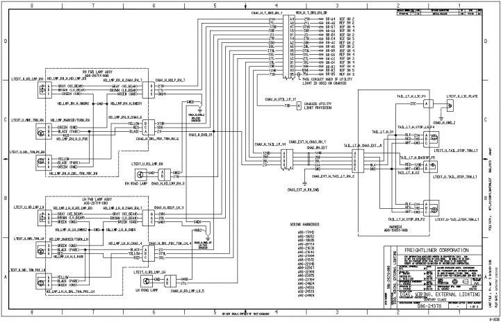2005 Freightliner Century Class Wiring Diagram