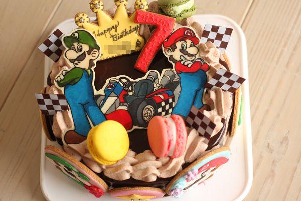 coupe-feti : マリオカートのお誕生日ケーキ