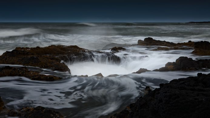 Thor's Well – Yachats, Oregon   Atlas Obscura
