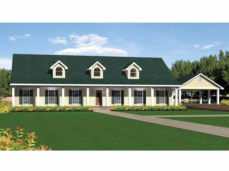 House Colonial Plans Story Bedroom 2 4