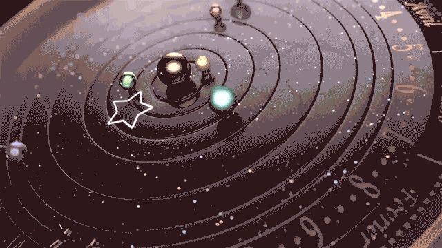 """""""A estrela cadente indica a hora e os minutos"""""""