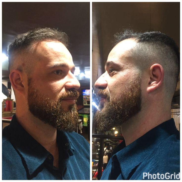 Barba e cabelo aqui na nossa barbearia com agendamento totalmente online em www.circushair.com ✂ Trabalho da @gabi.barber do Circus Augusta  #circus #circushair #barbeariacircus #circusbarbershop #barbershop #barberlove