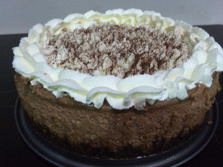 Cappuccino and Cream Cheese Cake