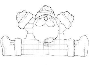 Lindos moldes de Natal para Craftar - Gi Arte & Design