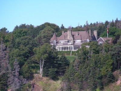 Alexander Graham Bell's home in Baddeck, Nova Scotia