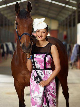 Rebecca Bramich @ Flemington Racecourse - photo by www.sdpmedia.com.au