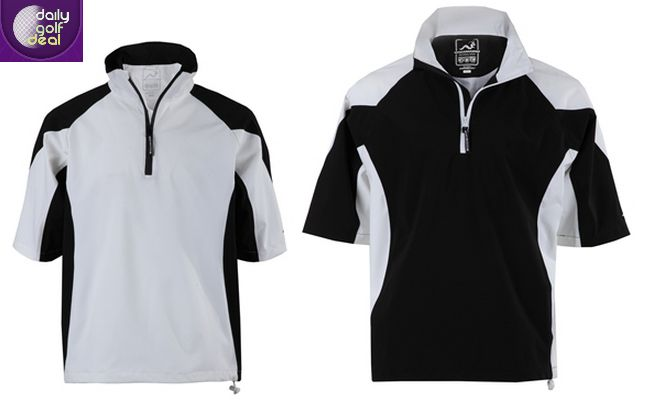 Today's Deal: Woodworm Golf V2 Waterproof Half Sleeve Top – White/Black or Black/White http://dailygolfdeal.co.uk/deals/deals/wdwrmv2/