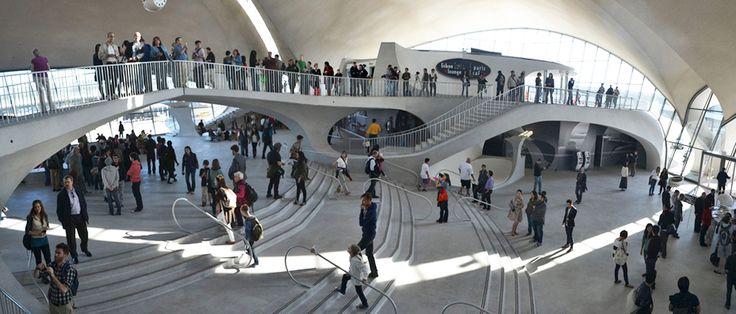 Eero Saarinen's TWA Terminal brought back to life