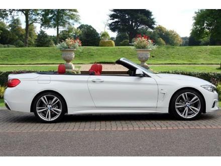 BMW 4 SERIES CONVERTIBLE 420d M Sport 2dr Auto 2.0
