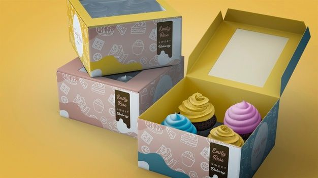 Download Download Cupcake Branding Mockup For Free In 2020 Cupcake Branding Branding Mockups Branding Mockups Free