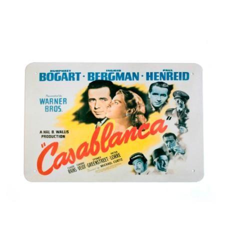 Chapa Decorativa Retro Casablanca  $ 119.0
