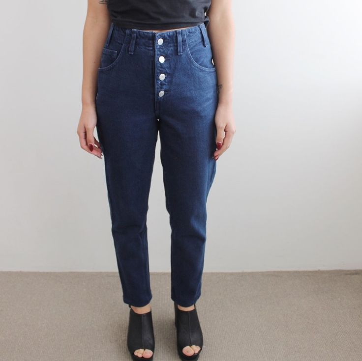 Vintage: Blue Wash 90's Guess Jeans  http://www.thestaticmidnight.com                    – thestaticmidnight