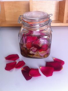 Jabón de aloe vera y pétalos de rosas