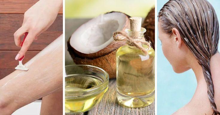 Algunas celebridades han encontrado en el aceite de coco las propiedades que muchas mujeres estamos buscando para deshacernos de los productos químicos.