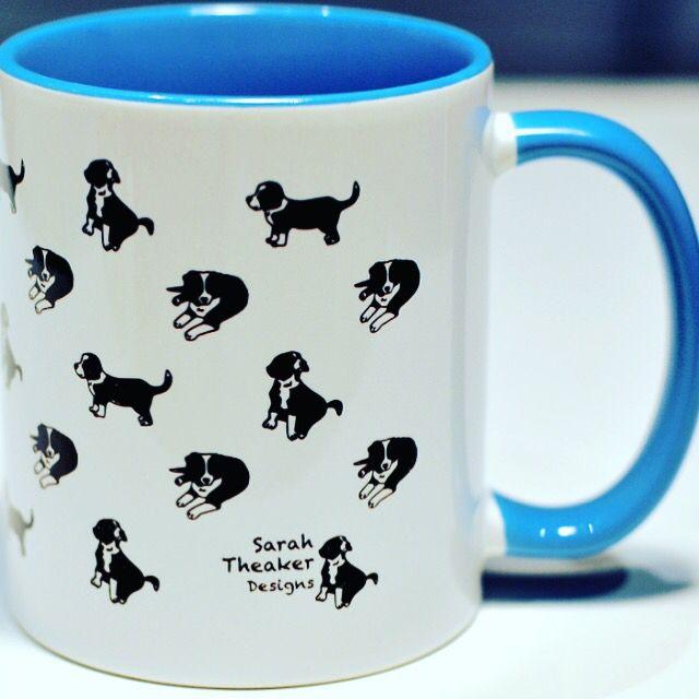13 best images about dog mugs on pinterest for Blue mug designs