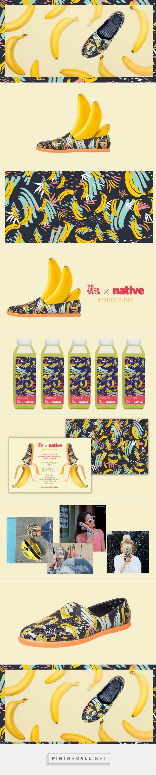 Juice Truck x Native Shoes Branding by Glasfurd & Walker Design
