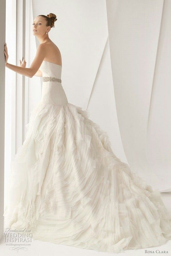 """Alcantara"" by Rosa Clara´ Bridal 2012^^^^^^^^^^^^^^^^^^^^^^^^^^^^^"