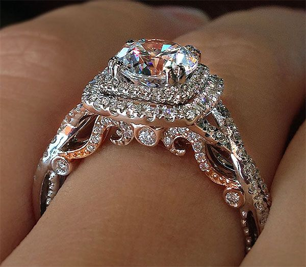 Verragio Engagement Ring ~ Massive CLEARANCE SALE exclusively at #Capri #Jewelers #Arizona ~ www.caprijewelersaz.com ♥ (Excludes designer settings)
