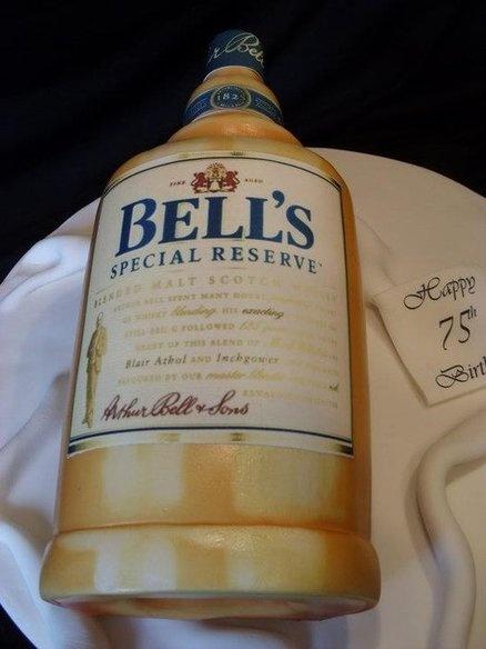 BELLS WHISKEY BOTTLE