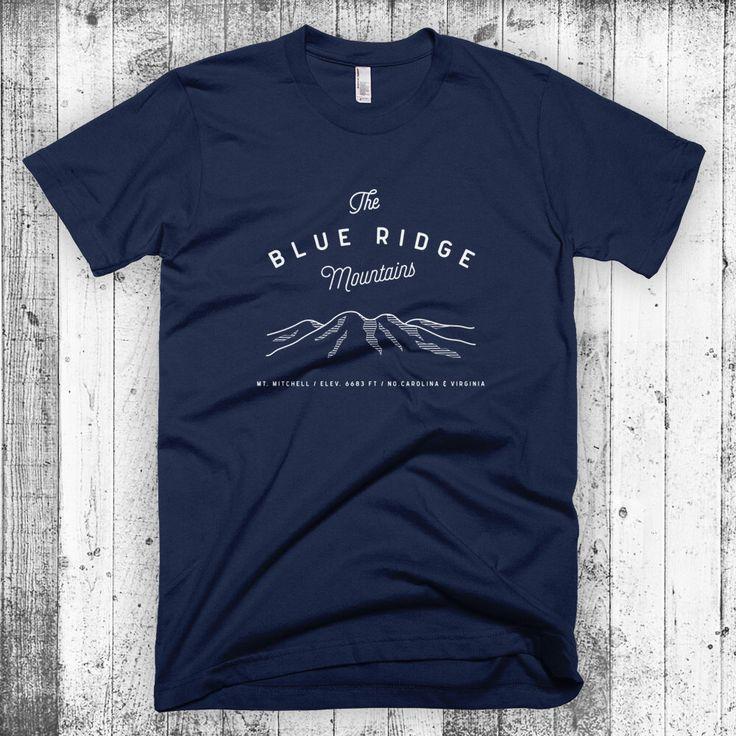 Vintage Blue Ridge Mountains North Carolina Sweatshirt 1AWX6OWuDb