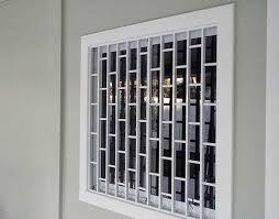 Resultado de imagen para desenho de grade de aluminio para janelas