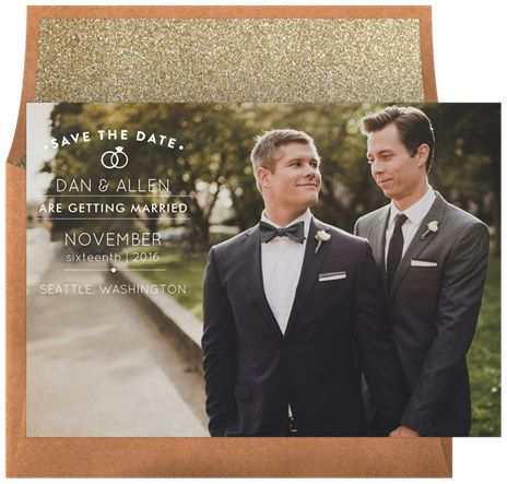 Use digital save the dates and invites.   32 Ways To Make Planning A Wedding So Much Less Stressful