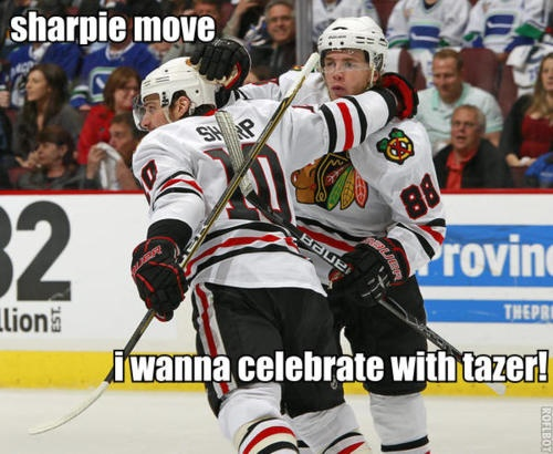 Yeah Sharp he wants to celebrate with his bro that he has a bromance with.